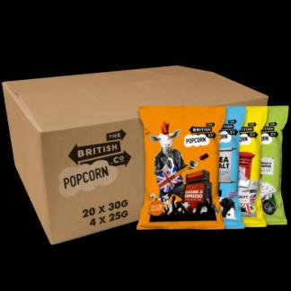 Mixed Case of British Popcorn Co. - 24 x 30g