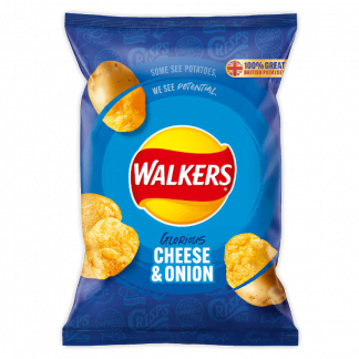 Walkers Cheese & Onion - 32x32.5g