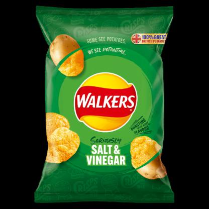 Walkers Salt & Vinegar - 32x32.5g